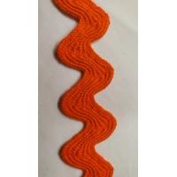 NOUVEAU ruban serpentine orange 3.5 cm