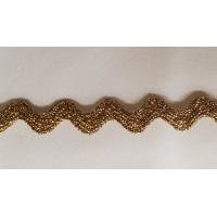 NOUVEAU ruban serpentine doré,1 cm