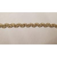 élastique serpentine doré 1 cm