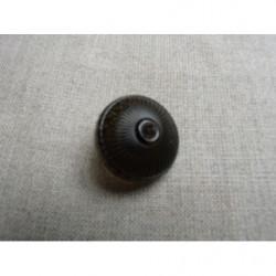 ruban velours-25mm- orange