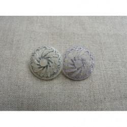 fermeture a glissière-20cm-creme