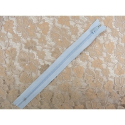 fermeture a glissière-20cm-bleu clair
