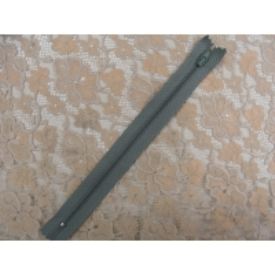 fermeture a glissière-20cm-vert kaki