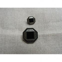 fermeture a glissière-20cm- noir
