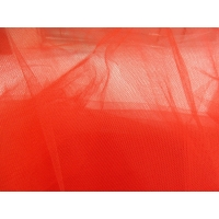 TULLE FIN  COULEUR ROUGE