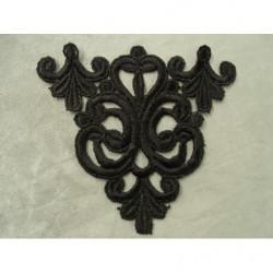 cordon polyester &coton -5mm- vert anis