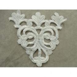cordon polyester& coton - 5mm- vert kaki