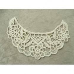 cordon polyester & coton - 4mm- vert