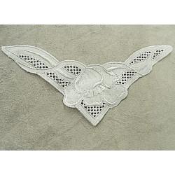 Ruban brillant skai  traversant - violet
