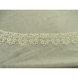 Ruban brillant skai  traversant - rouge