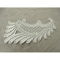 Ruban rouge irisé à  frange - photo de présentation