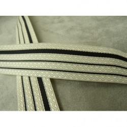 écusson américain à coudre- bleu, rouge, blanc- avec étoile argent- motif 2