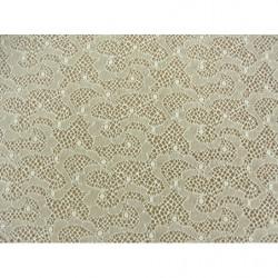 écusson thermocollant- motif : fleur orange avec tige verte