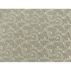 écusson thermocollant- motif: fleur orange avec tige parme