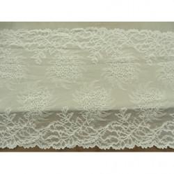 bouton hexagonale parme et or