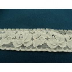 bouton a 4 trou- fleurs transparent