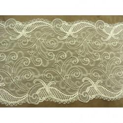bouton- losange rouge perlé