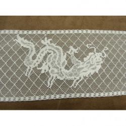 COLS PERLES-Applique à coudre paillettes et perles ruban 1.50 m