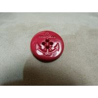 BOUTON ANCRE MARINE- ROUGE