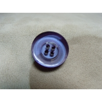 BOUTON POLYESTER A 4 TROUS- VIOLET