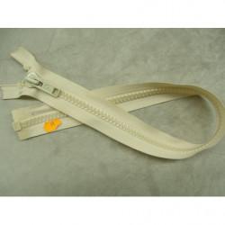 FERMETURE A GLISSIÈRE NON SÉPARABLE – 18cm-BLANC CASSE