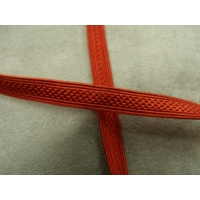 RUBAN MILITAIRE-8mm- ROUGE