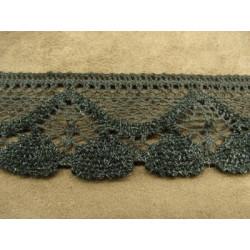 FERMETURE METALIQUE-15 cm- GRIS
