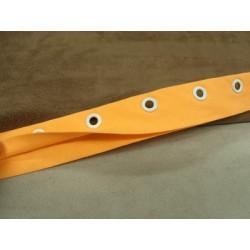 FERMETURE SEPARABLE -GROSSE MAILLE- 55 cm- GRIS