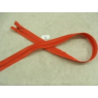 FERMETURE INVISIBLE- 60 cm- ROUGE