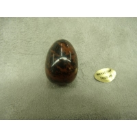 PIERRE MOTIF OEUF PM- MAGHAONY OBSIDIAN