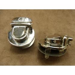 RUBAN BIAIS- 20 mm INTERIEUR /10 - 10 mm- COTON- GRIS CLAIR