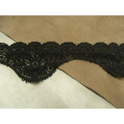 Sangle coton 3 cm lanière grise