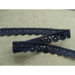 collier perle acrylique- 70cm- bleu/vert