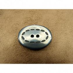 RUBAN SKAI froncé-2,5 cm - ROSE