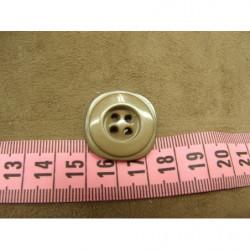 Frange blanche en polyester -5 cm