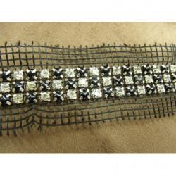 Ruban skai -2 cm-noir