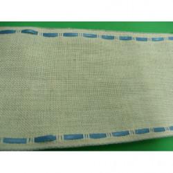 strass à griffe rond - 2 cm - NOIR