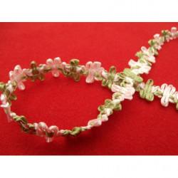 tissu coton imprimé violet à pois blanc