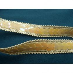 tissu coton imprimé arbre fleuri rose & bleu