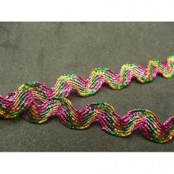 tissu coton imprimé ZEBRE- bleu et violet