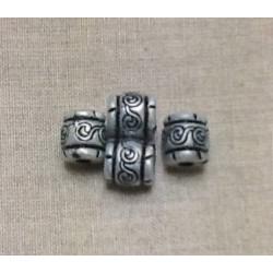 Dentelle blanche  elastique froncée -5,5cm