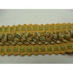 tissu crêpe bleu en forme d'étoile blanche