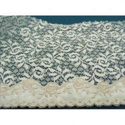 Galon Pailleté 1,3 cm   très souple - doré