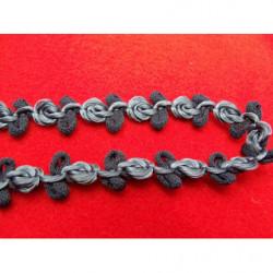 BOUTON motif petit strass- vert