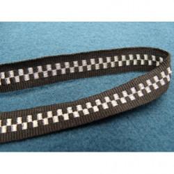 ruban sergé - 15 mm- vert