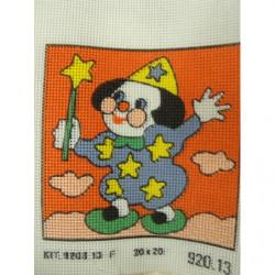 bouton bicolore composé -28 mm- noir
