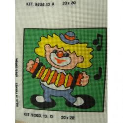 bouton bicolore composé -22 mm- noir