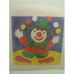 bouton bicolore composé -17 mm- noir et rouge