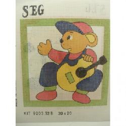 BOUTON bicolore composé violet fond vert, 22 mm, acrylique bouton,idéal pour chemisier, robe , veste.....